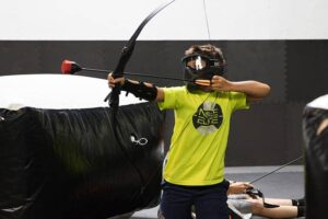 Cincinnati Archery Kids Birthday Party